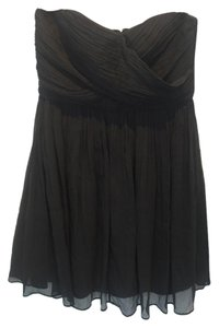 J.Crew Strapless Silk Chiffon Flowy Party Dress