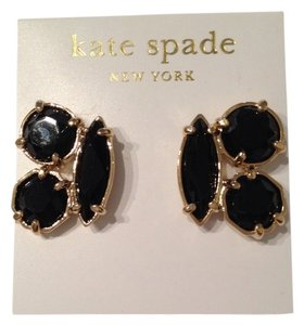 Kate Spade Kate Spade Clustered Black Onyx Stud Earrings