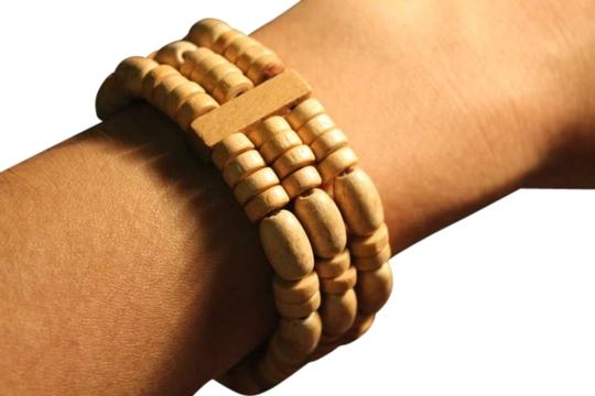 Guatemala Brand New Never Worn Hand Made in Guatemala Wooden Bracelet