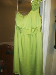 Merona Green (Like A Light Lime Green) Dress