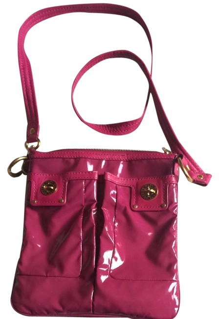 Item - Fuchsia Patent Leather Cross Body Bag