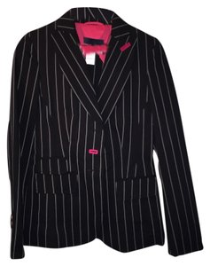 Les Copains Black pin striped Blazer