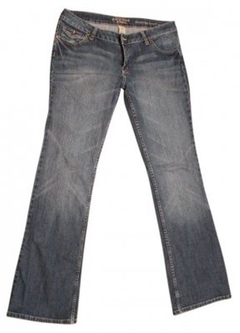 Preload https://img-static.tradesy.com/item/33569/arizona-jean-company-medium-blue-wash-flap-pockets-long-boot-cut-jeans-size-33-10-m-0-0-650-650.jpg