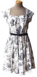 Bernie Dexter Toile Plus Size Womens Womens 1x Dress