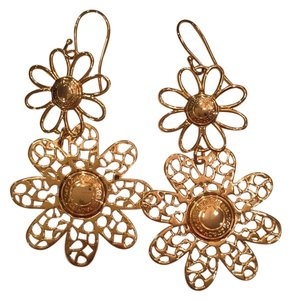 Coach Miranda Double Drop Flower Earrings 94447