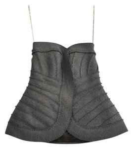 Herv Leger Top Gray