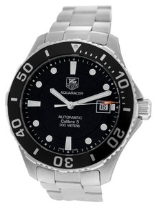 TAG Heuer Tag Heuer Aquaracer Calibre 5 WAN2110 Steel Date Automatic Watch