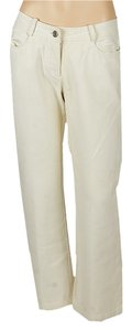 Céline Straight Pants Ivory