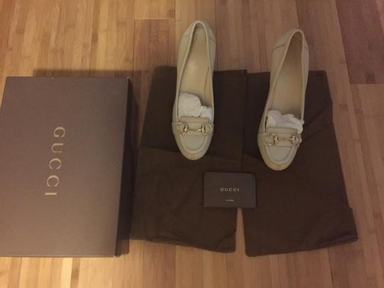 Gucci Beige Wedges Image 2