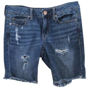 American Eagle Outfitters Cut Off Shorts Stone-Washed Denim