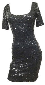 Vivienne Tam Stretch Black Dress