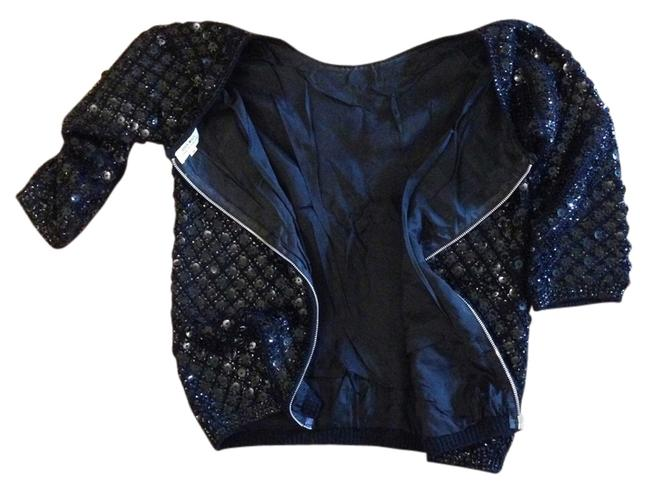 Preload https://item2.tradesy.com/images/black-stunning-sequins-night-out-top-size-8-m-3358501-0-2.jpg?width=400&height=650