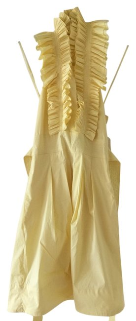 Preload https://img-static.tradesy.com/item/3358633/bcbgmaxazria-yellow-slp6ba92-cocktail-dress-size-0-xs-0-0-650-650.jpg