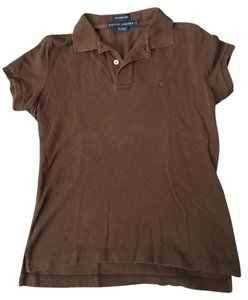 Ralph Lauren Button Down Shirt Brown