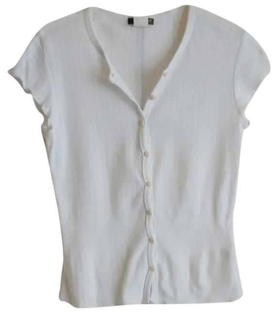 Preload https://item4.tradesy.com/images/jcrew-pointelle-xs-white-button-down-top-size-2-xs-3359188-0-0.jpg?width=400&height=650
