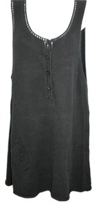 Free People short dress Black Knit Shift on Tradesy