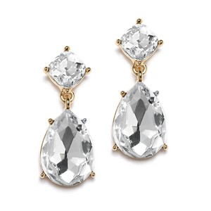 Mariell Best-selling Gold Drop Earrings For Weddings Or Proms 4292e-cr-g