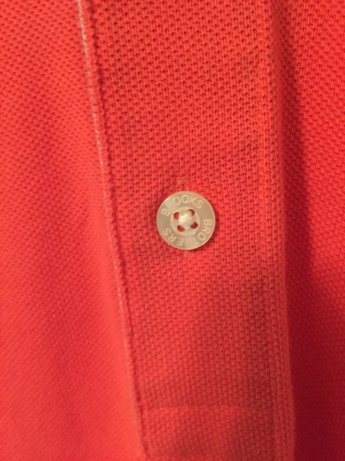 Brooks Brothers Mens Mens Polo Mens Polo Shirt Mens Polo Mens Button Down Shirt Red Image 3