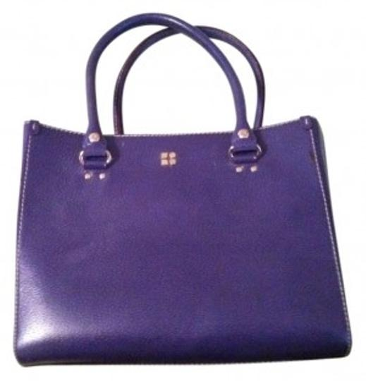 Preload https://img-static.tradesy.com/item/33602/kate-spade-tarrytown-purple-leather-tote-0-0-540-540.jpg