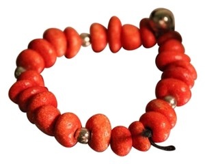 Brand New Never Worn Wooden Beads Bracelet with Bells