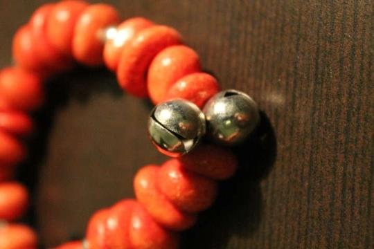 Other Brand New Never Worn Wooden Beads Bracelet with Bells