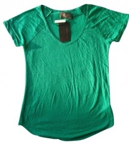 Zara T Shirt Emerald green