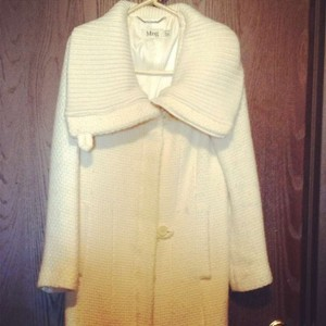 Mango Sweater Trench Coat