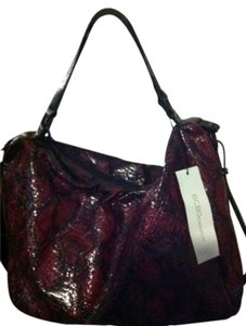 BCBGeneration Satchel in Wine/Black