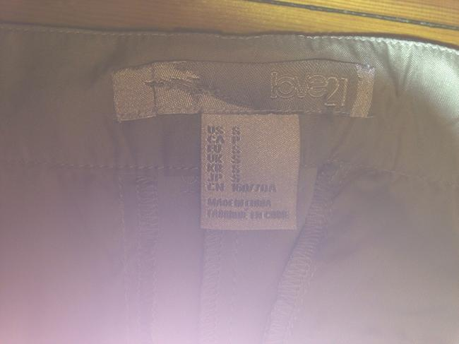 Forever 21 Straight Pants Light brown