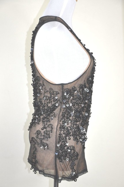 Other Top Black Multi Floral