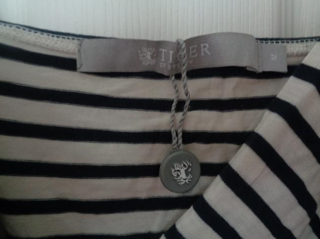 Tiger of Sweden Top Blue and White