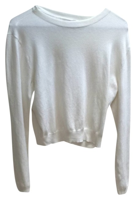 Preload https://item1.tradesy.com/images/urban-outfitters-cream-crop-blouse-size-12-l-3362065-0-0.jpg?width=400&height=650
