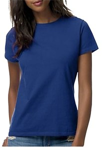 Hanes T Shirt Royal Blue
