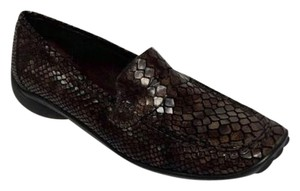Sesto Meucci Loafers Brown Black Flats