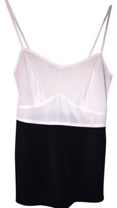 AllSaints Top Black and white