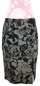 Escada Skirt Black/white