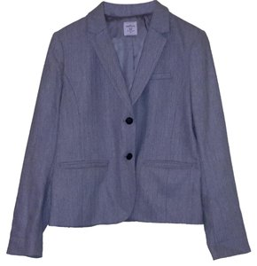 Gap Academy Harringbone Grey Blazer