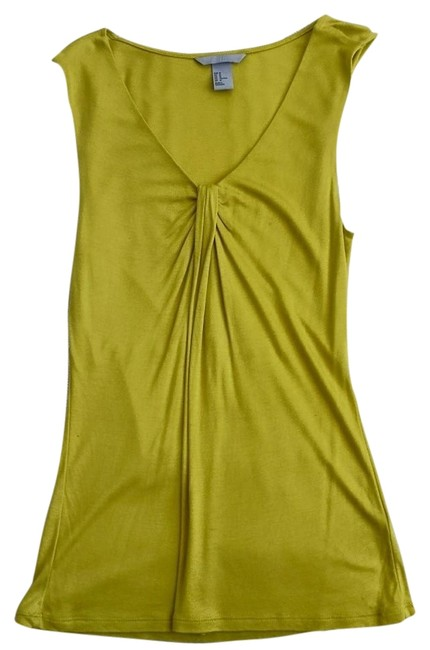 Preload https://item4.tradesy.com/images/h-and-m-neon-yellow-green-sleeveless-tank-topcami-size-8-m-3362788-0-0.jpg?width=400&height=650