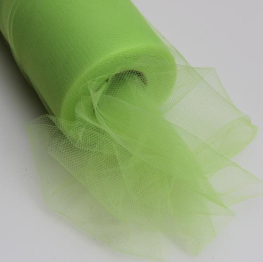 Apple Green Tulle Huge Roll - 100 Yd X 6 In Apple Green Tulle Spool - Tulle Roll Free Ship