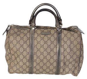 Gucci Satchel in Browns/Silver