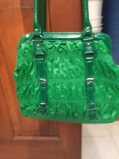 Melie Bianco Emerald Fun Unique New Shoulder Bag
