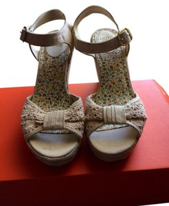 Hot Kiss Beige Sandals