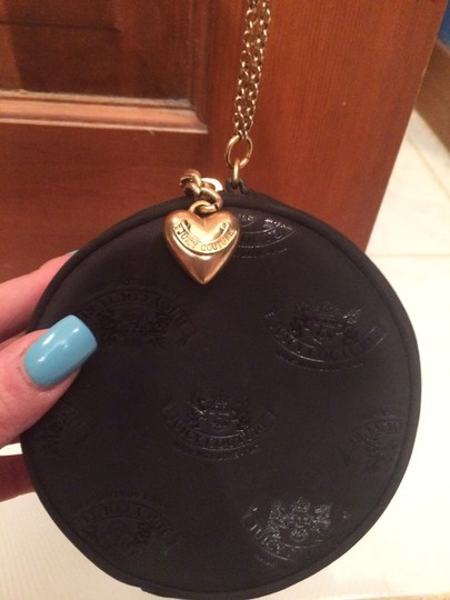 Juicy Couture Evening Purse Monogramed Wristlet in Black Image 2
