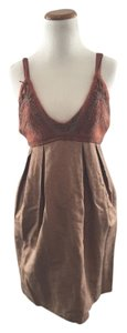 Monica Byrne short dress Orange Crochet Bohemian on Tradesy