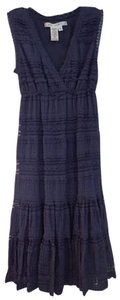 Max Studio short dress Navy Lace on Tradesy