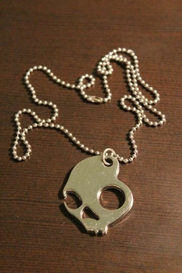 Other Stainless Steel Skull Necklace