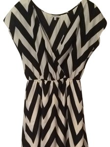 Charlotte Russe short dress Black And Cream on Tradesy