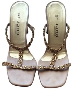 St. John Rose Gold Sandals