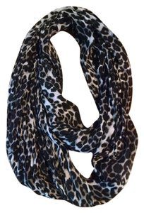 Express Express Leapard print infinity scarf