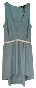 Elizabeth and James short dress Sea Green Amari on Tradesy